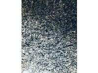Gorgeous grey curly rug £40
