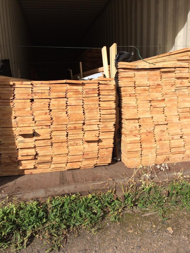 New timber t&g flooring 13 ft