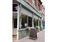Front of house manager for Walthamstow food led pub