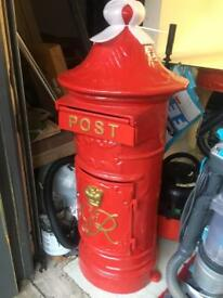 Post box cast iron only £190