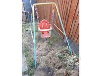 Toddler swing good condition £10 ono