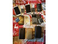 Joblot Mobile Phones & Spares - All Spares Or Repair (Samsung, Iphone, HTC)