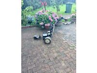 Pro drive electric golf trolley with battery and charger