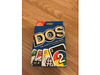 Dos cards from the makers of 'Uno'