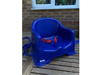 Child's indoor booster seat chair for dining table or floor from argos