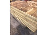 Fence Panels vertical Board