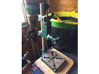 Record drill stand