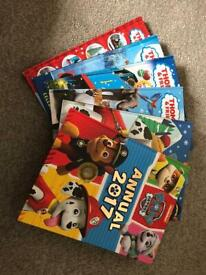 Bundle of Thomas and Paw Patrol Annuals