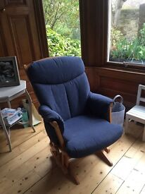 Nursing Chair and footstool, immaculate condition