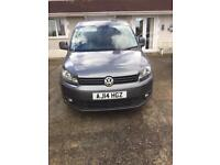 Volkswagen caddy C20 high-line 4 seater NO VAT