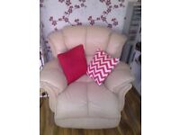 Recliner For Sale And 2 Chairs... £150