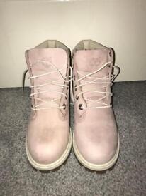 Pink Timberland Boots UK 4