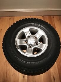 Landrover Defender 90 Wheels + Tyres