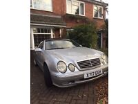 Mercedes CLK Convertible 3.2 auto excellent winter project for summer '17!