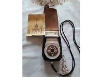 Vintage Russian LENINGRAD 4 Light / Exposure Meter