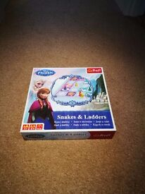 FROZEN SNAKES AND LADDERS BOARD GAME