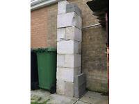 !3 Foundation blocks £10. 4 Dense blocks £5