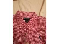 7 yrs girl's Ralph Lauren shirt