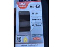 One for All Indoor freeview ariel amplifier - £10