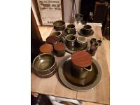 Part Hornsea Vintage Dinner Set (Retro)