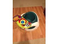 Mamas and Pappas baby booster chair