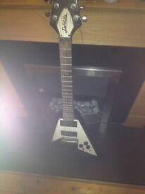 Deville v neck electric guitar