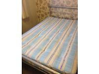 Double bed with Deluxe Beds Super Royalty Open Spring Orthopaedic Mattress