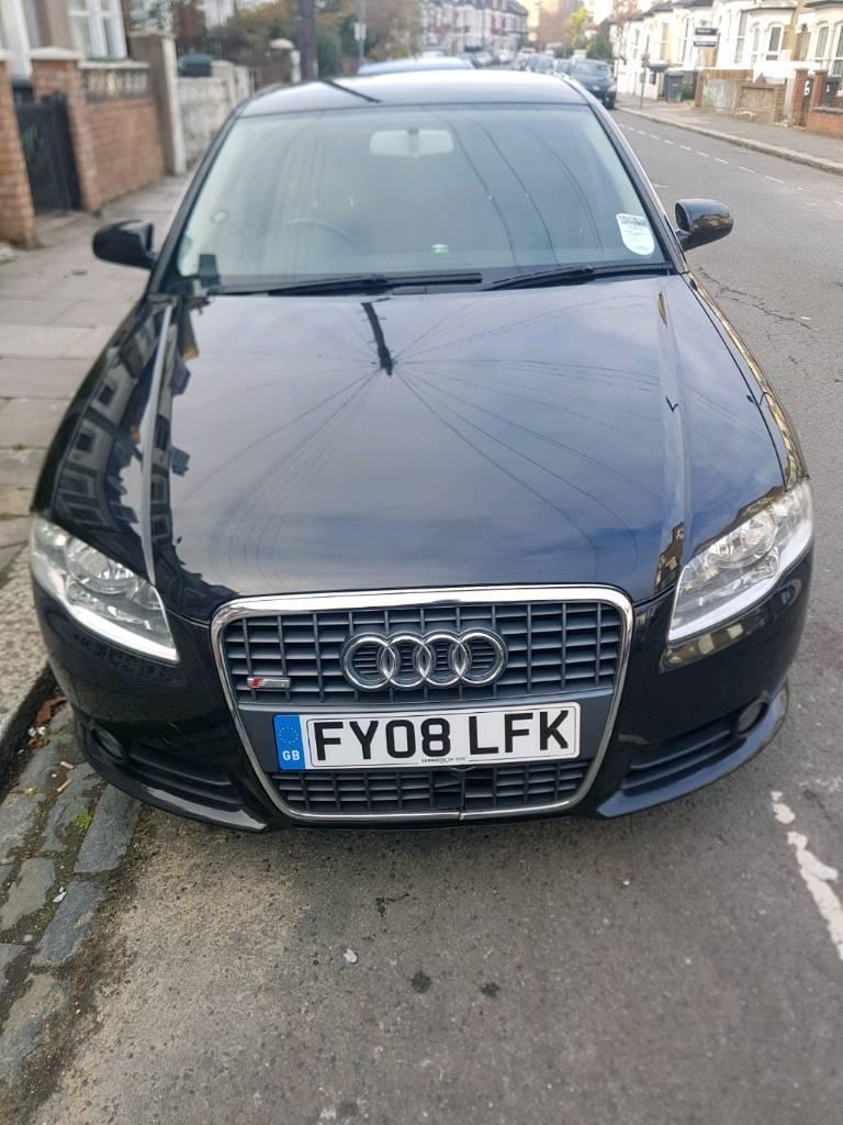 Audi a4 s-line 2008 plate