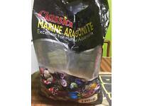 bag full of unused marine thick sand