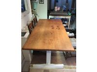 Old farmhouse style kitchen table