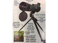 High Powered Zoom Spotting Scope 20-60 x 60