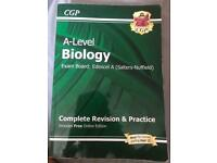 A level biology revision textbook