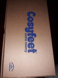Cosyfeet extra wide mans shoes size 9