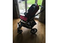 Uppababy Vista Pram Travel System