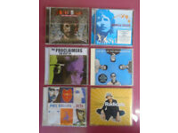 6 Excellent Music CD's . Very Collectable . See Descriptions