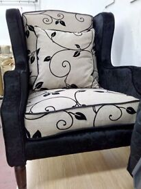 Wingback chair. Excellent condition