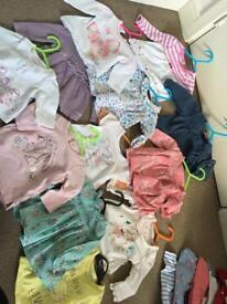 Baby girl bundle 0-3