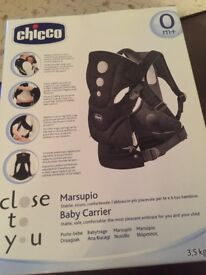 Chicco close to you baby carrier- brand new in unopened box. Collection only.