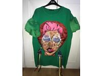 Green icecream girl dress/tshirt
