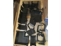Assorted guttering pieces
