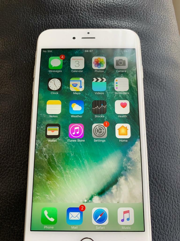 Apple iPhone 6 Plus - 64GB - Silver (Unlocked) - **Touch Screen Not  Working**   in Kilburn, London   Gumtree