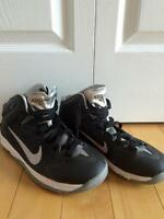 Boys Nike basketball sneakers
