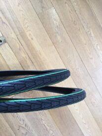 "Pair of New 26"" bike tyres"