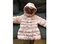 NEXT girls coat size 3-4 year