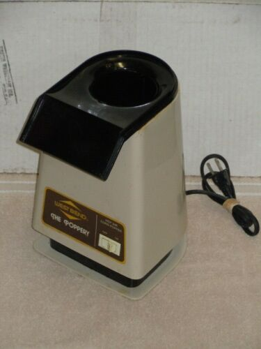 WEST BEND THE POPPERY HOT AIR POPCORN POPPER COFFEE BEAN ROASTER BASE ONLY