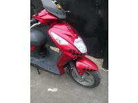 Sym Symply 125 cc, practically brand new and looks and rides like new.