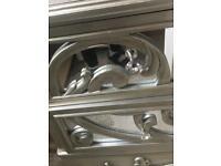 Mirror 2 drawer chest