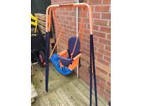 Hedstrom outdoor indoor foldable swing