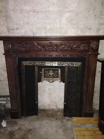 Ornate fireplaces for sale