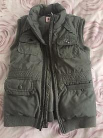 Girls juicy couture bomber jacket Age 6